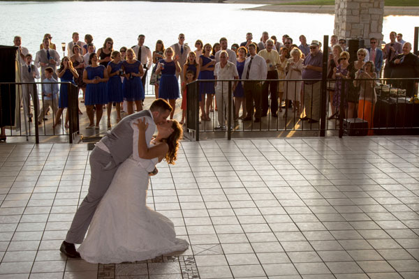 Bride and Groom's First Dance at the Wedding Reception Photography