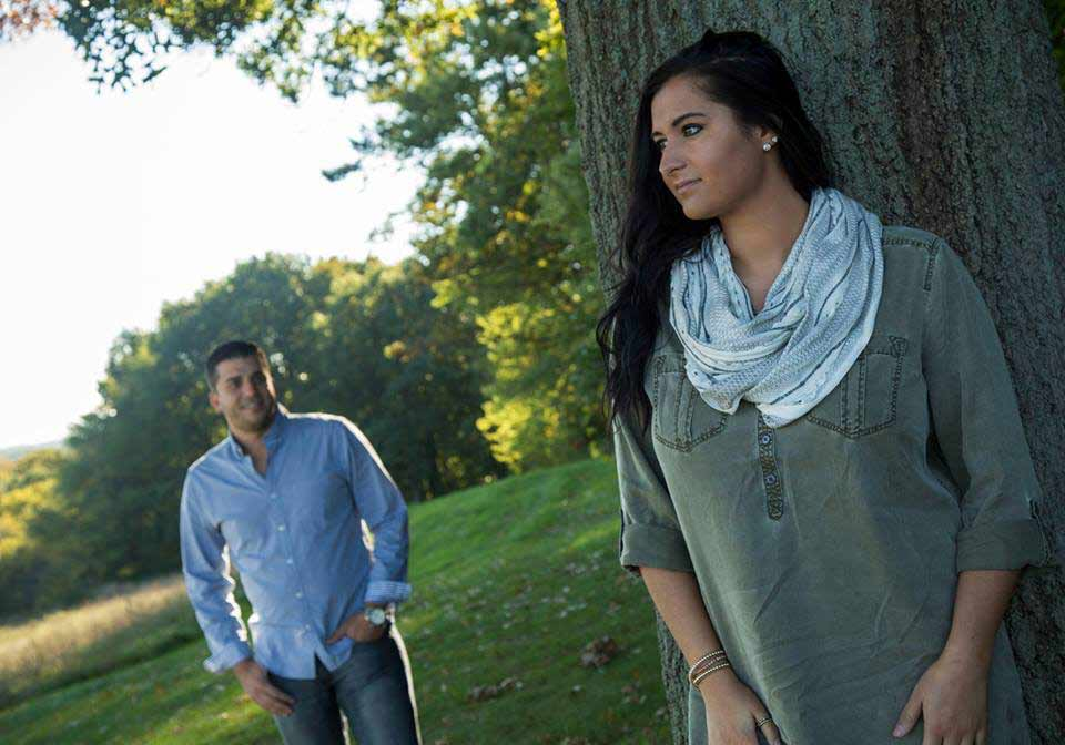 Engagement Photo Session in Canton, Ohio