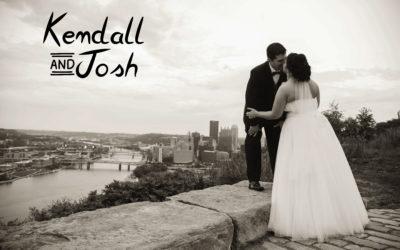 Kendall & Josh | Uniontown Wedding Photography | Mt. Washington Overlook
