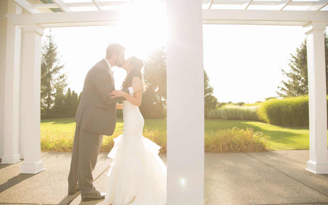 The Youngs   The Fair View Sunset Room   Washington, PA Wedding Photography