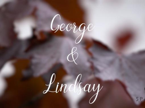George & Lindsay