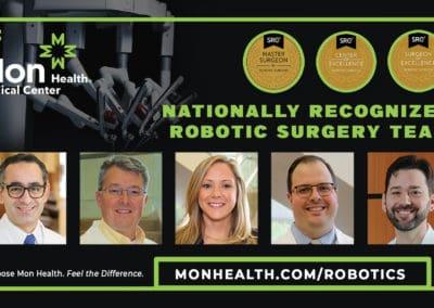 Robotic Surgery at Mon Health Medical Center